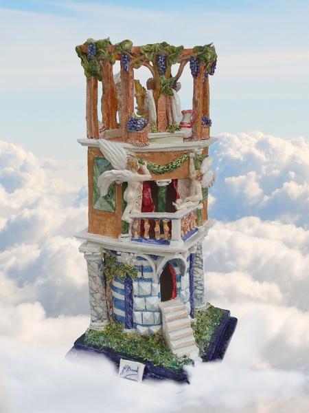 S0408- La casa degli angeli - 2014 - 65x30x33