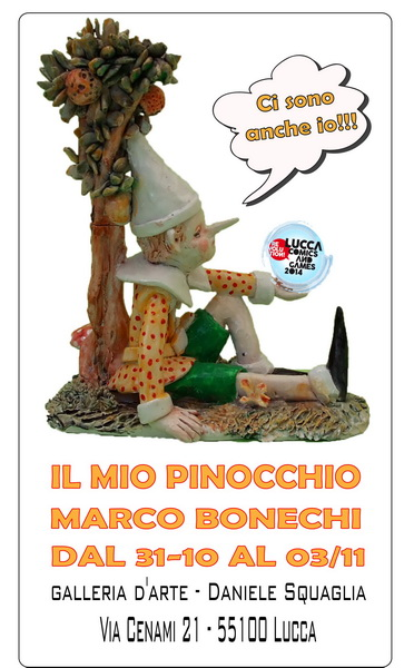 locandina squaglia-Il mio Pinocchio - Marco Bonechi