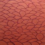 Q0322 Marco Bonechi - L'acqua rossa 2011 - Olio su tela - cm 100x100