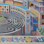Q0369c - Marco Bonechi - Citta - 2014 -100x100