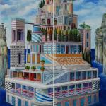 Q0370 - Marco Bonechi - Città - 2014 - n2 100x35
