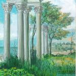 Q050 - Paesaggio Archeologico 2000 -22,5x11,5