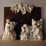 S0253-Marco Bonechi -Natività 2010 - terracotta  invetriata - cm 85x90x40ca