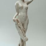 S0269 - Marco Bonechi - Sirena con sirenetta 2011 - Terracotta invetriata - cm 60x25x25ca