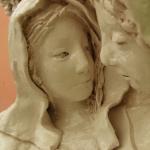 S0293c- La Visitazione 2012- - cm 106x84x18