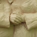 S0293e- La Visitazione 2012- - cm 106x84x18