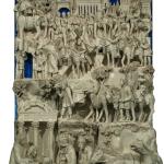 S0311- Marco Bonechi - Adorazione dei Magi 2012- terracotta  invetriata cm 180x140x48