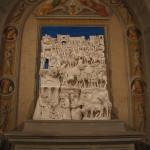 S0311a- Marco Bonechi - Adorazione dei Magi 2012- terracotta  invetriata cm 180x140x48