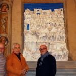 S0311b- Marco Bonechi - Adorazione dei Magi 2012- terracotta  invetriata cm 180x140x48