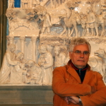 S0311d- Marco Bonechi - Adorazione dei Magi 2012- terracotta  invetriata cm 180x140x48